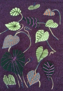 Marion Dines' Felting Fun Leaves