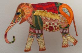 Elephant by Marj Kavangh